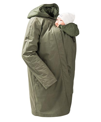 Short Coat For Babywearing