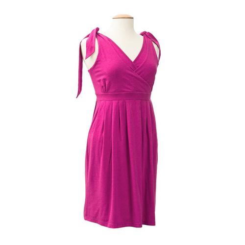 Nursing/maternity dress Ennie Neckholder  raspberry