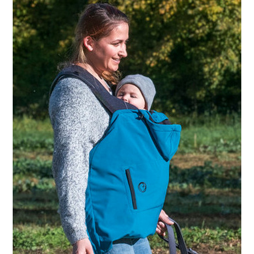 Babywearing Cover Softshell for Wrap/Sling.