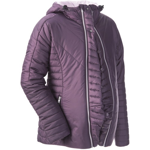 Winter-Steppjacke zum Babytragen