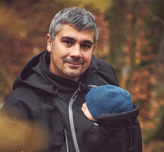 Babywearing Jackets for Dads